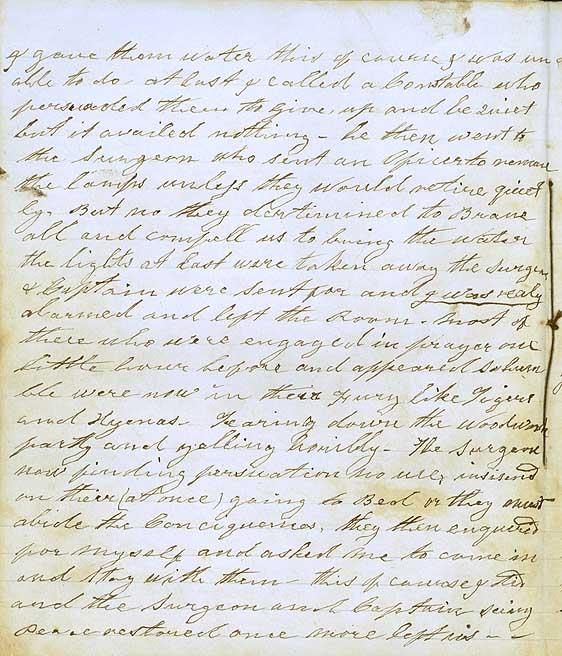 Diary entry 29 December 1856
