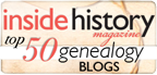 Top 50 Blogs from Inside History