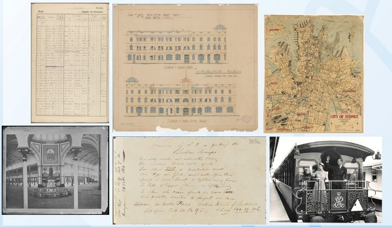 Various scanned archival items