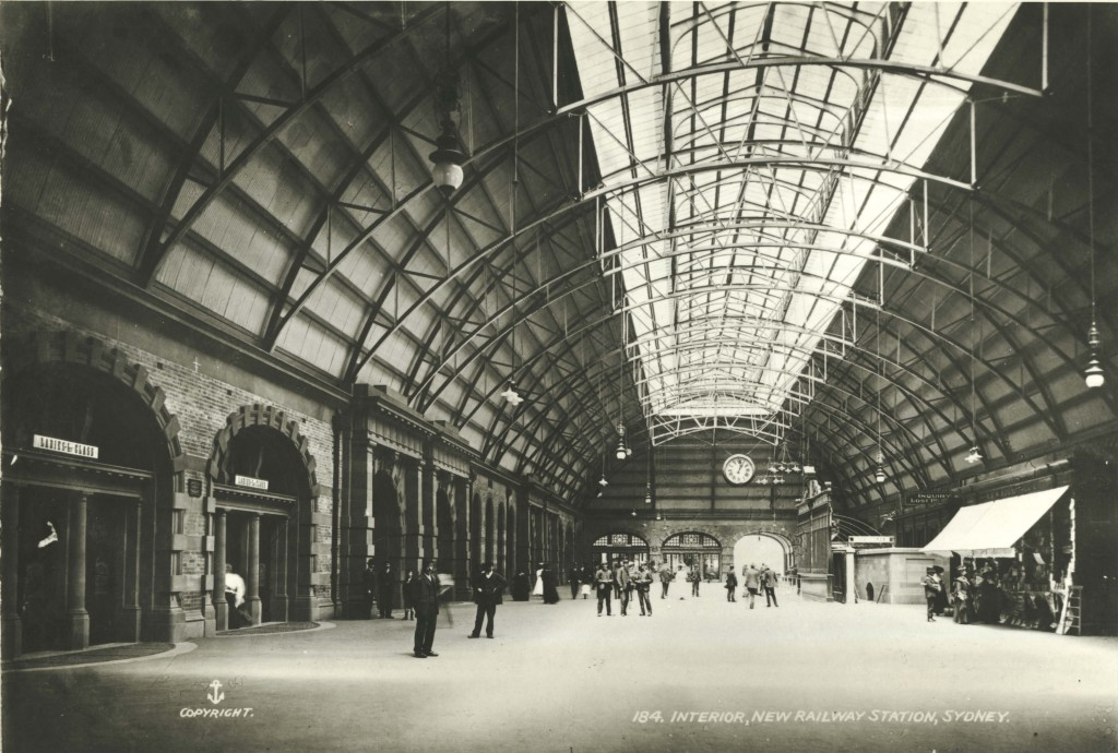 Caption: [Interior of archway concourse at Central Railway Station, Sydney (NSW)]  Digital ID: 17420_a014_a014000289.jpg  Date: c. 31/12/1906